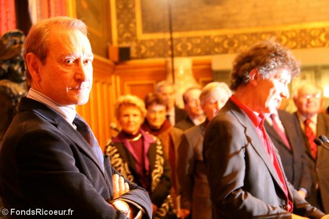 Bertrand Delanoë et Olivier Abel