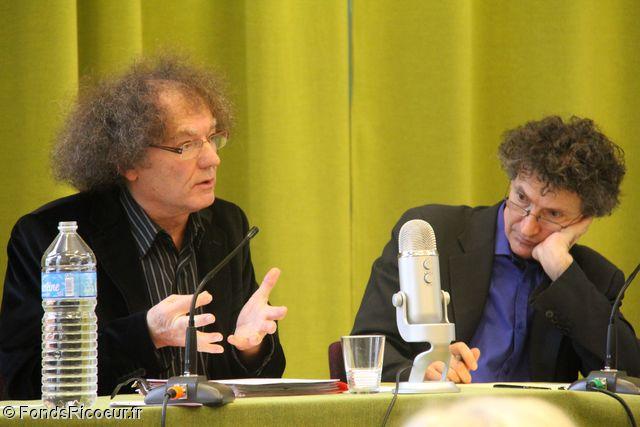 François Dosse et Olivier Abel.